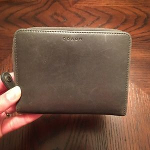Coach Leather Folding Wallet